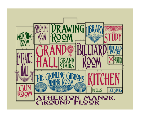First Floor of Atherton Manor